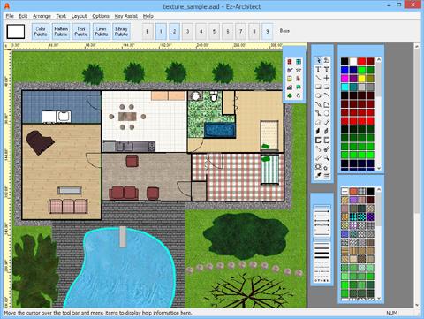 Floor Plan Design and Home Design Ez Architect ... on free home construction, free home art, free home graphics,